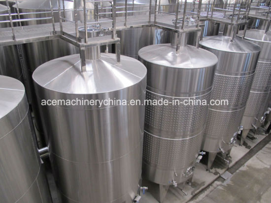 Conical Bottom Variable Capacity Jacketed Tanks pictures & photos