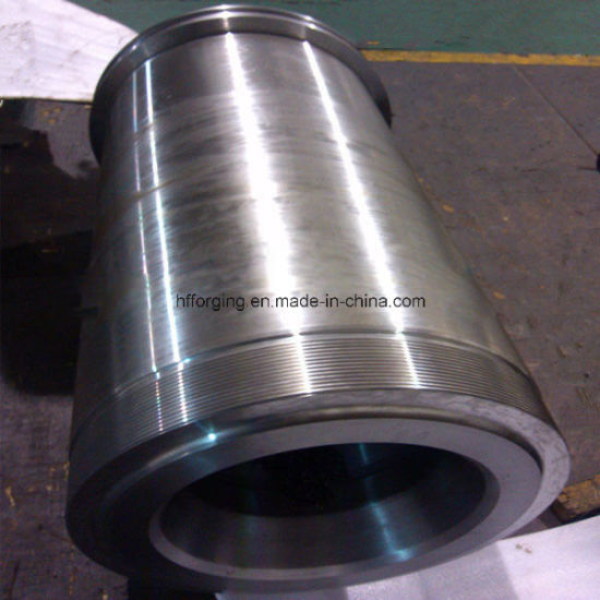 20mn Qualified Steel Forging Shaft Sleeve Axle Sleeve pictures & photos