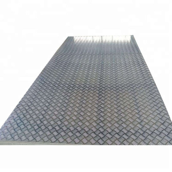 Reliable Wholesale Price 2 Inch Black Hot Rolled Checkered Plate pictures & photos