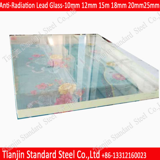 30mm X-ray Radiation Shielding Zf3 Lead Glass 0.24mmpb Manufacturer pictures & photos