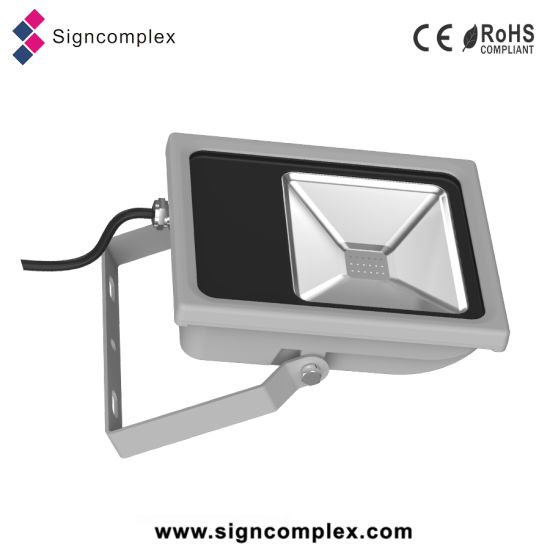 Retrofit Slim 16 Colors Optional Dimmable COB 30W LED RGB Flood Light pictures & photos