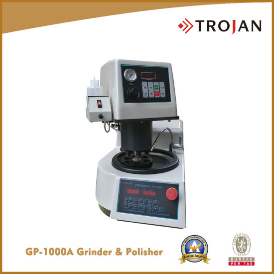 Automatic Metallurgical Specimen Grinder/Polisher (GP-1000A) pictures & photos