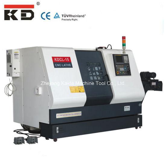 Slant Bed Lathe Machine CNC Kdcl-15 pictures & photos