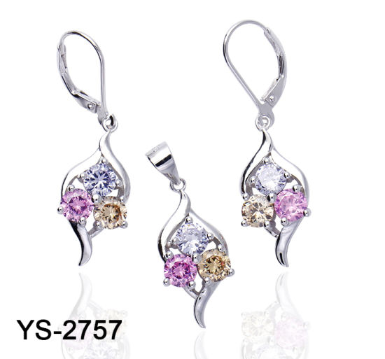 Wholesale 925 Sterling Silver Multicolor CZ Jewelry Set for Kids pictures & photos