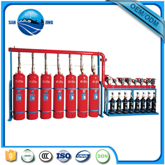 Best Selling Heptafluoropropane Hfc-227ea Fire Extinguishing System pictures & photos