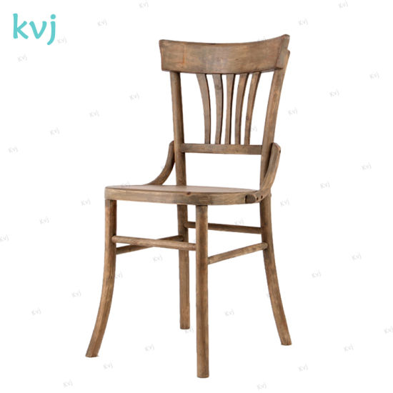 Kvj-7022 Home Furniture Vintage Antique French Oak Wood Dining Chair pictures & photos