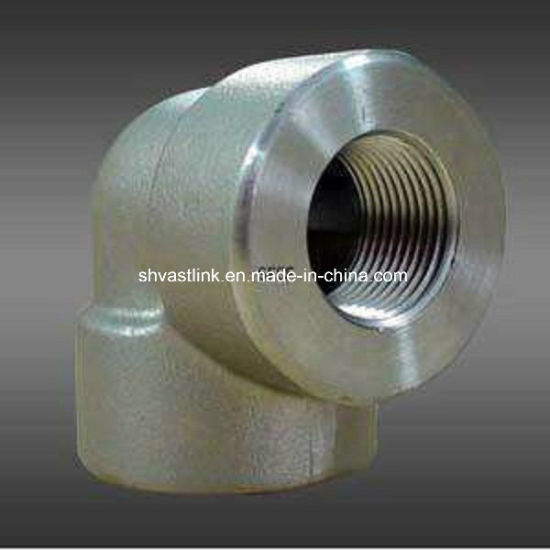 300 Series Stainless Steel Threaded 90 Degree Elbow for Pipe Joint pictures & photos