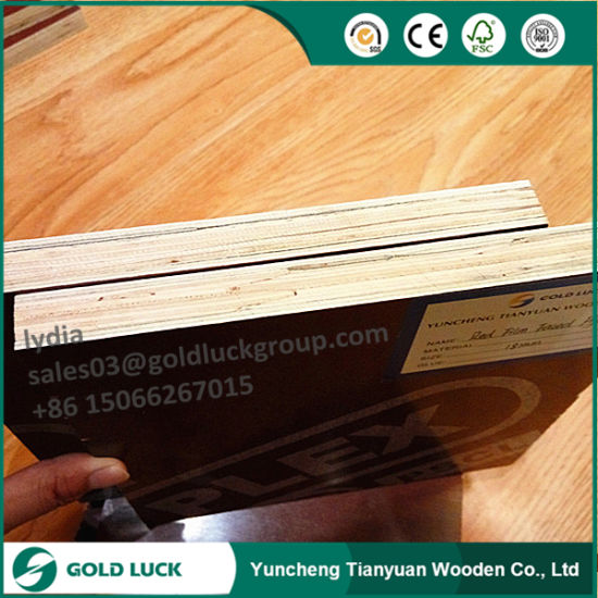 18mm Phonolic Glue Mr Glue Finger Joint Core Plywood for Formwork Use pictures & photos