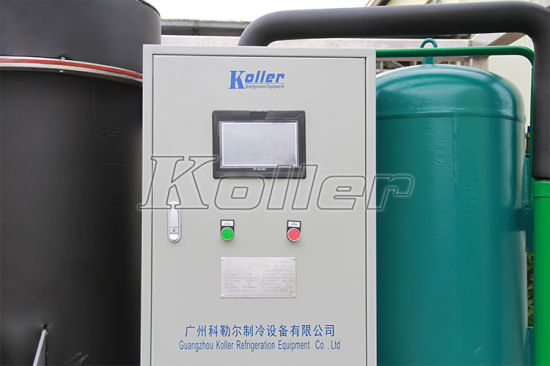 Cylinder Ice Maker 3000kg/Day Tube Ice Machine for Hunman Consumption (TV30) pictures & photos