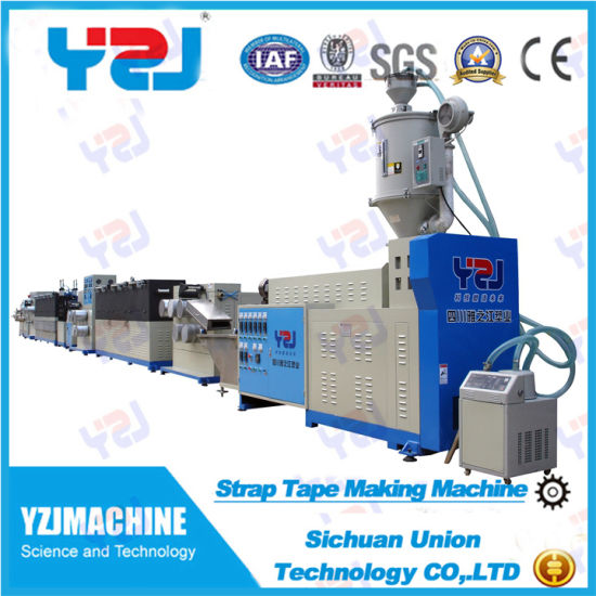PP Packing Strip Making Machine with Online Printer pictures & photos