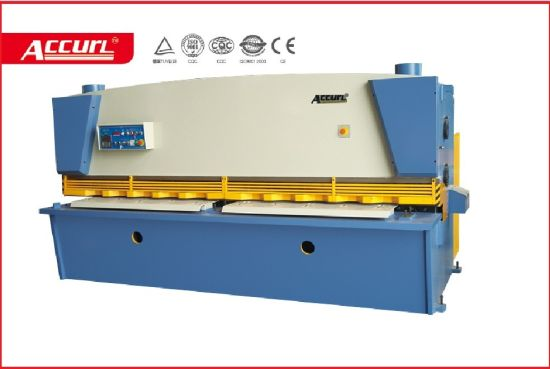 QC11k-Hydraulic Guillotine Metal Cutting Machine with Dac 360 pictures & photos