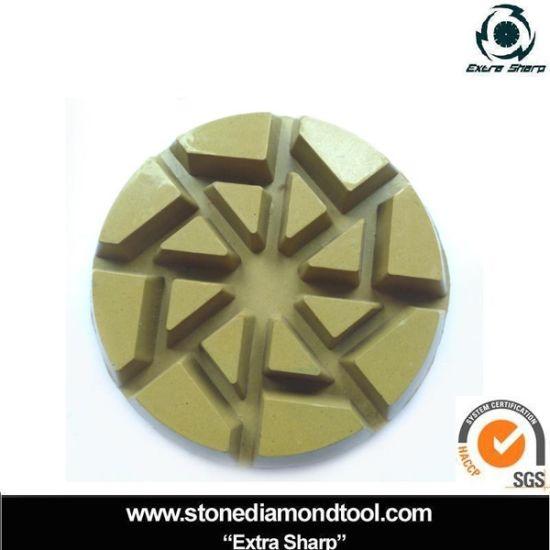 Hybrid Concrete Pads/ Diamond Floor Polishing Pad pictures & photos
