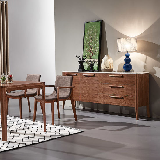 Nordic Wooden Living Room Furniture Side Cabinet Console Table Made in China pictures & photos