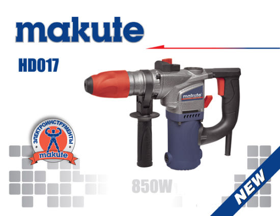 Makute Brand 32mm 1400W Hammer Drill Rotary Hammer (HD004) pictures & photos