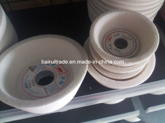 "Hot Sale 4""Abrasive Cup Wheels for Poilishing pictures & photos"