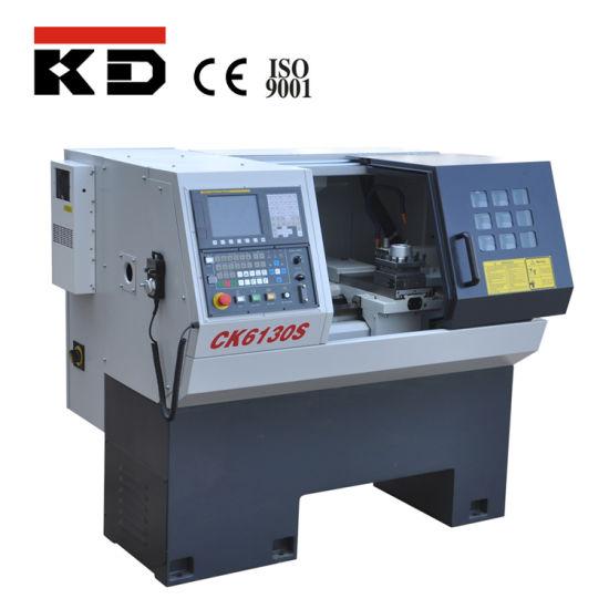 China Ce High Precision Mini CNC Lathe Machine Ck6130s pictures & photos