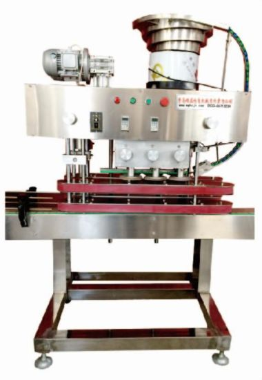 Automatic Cap Rubbing Machine / Cooperate with Vibrating Cap Sorting Machine pictures & photos