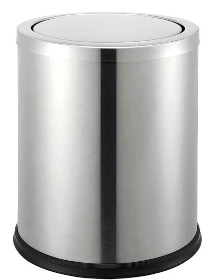 Brushed Fire Resistant Waste Bin for Room Use pictures & photos