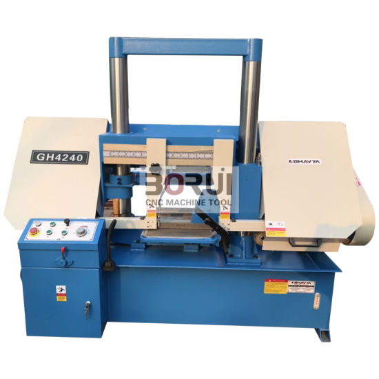 Gh4240 Horizontal Band Saw Machine Metal Cutting Band Hydraulic Double Column Power Tools pictures & photos