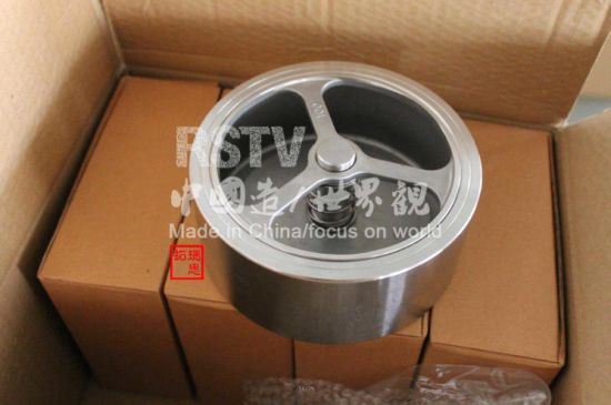 Pn16/Pn40 Single Disc Wafer Check Valve (SS304/SS316) pictures & photos