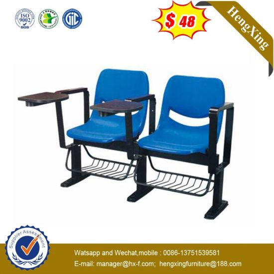 Simple Design Plastic School Training Chair Office Meeting Chair with Writing Board pictures & photos