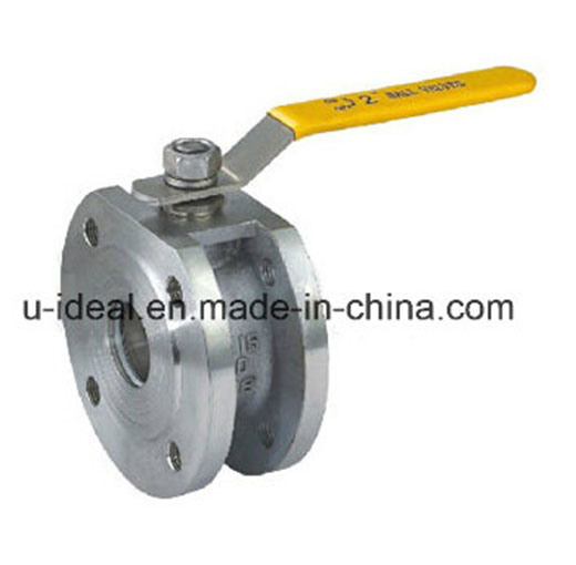 Cast Steel Wafer Ball Valve pictures & photos