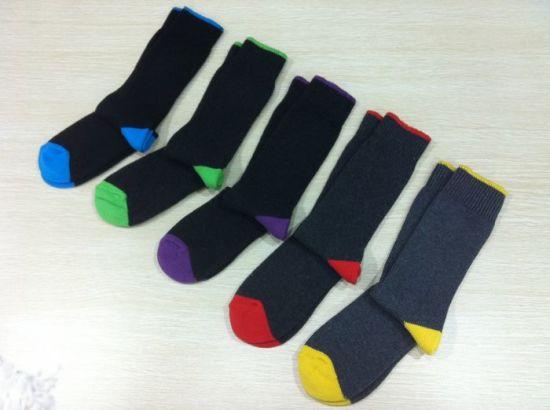 Men′s Rib Socks (BAT-R01) pictures & photos