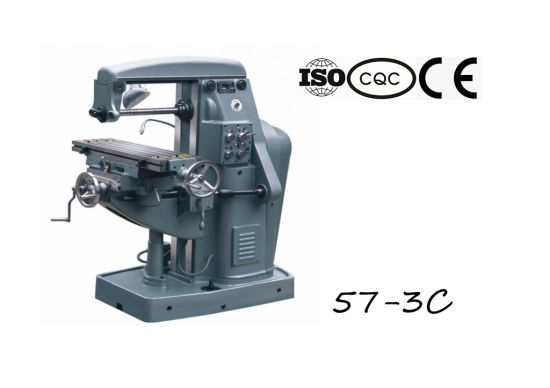 57-3D Universal Knee-Type Milling Machine pictures & photos