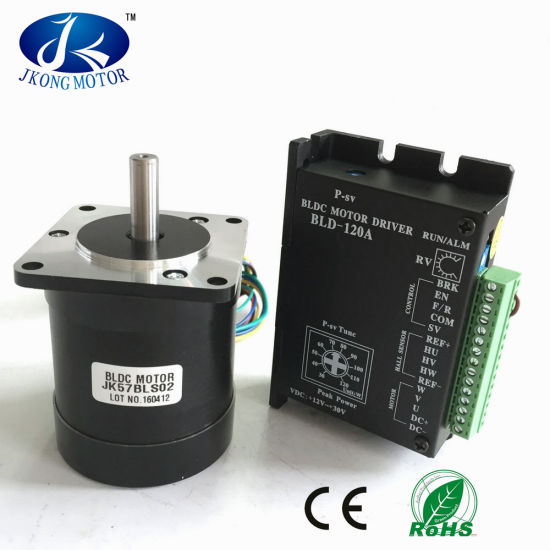 57mm Brushless DC Motor 36V 4000rpm with Driver Jkbld-120A pictures & photos