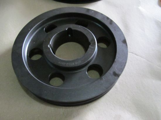 Cast Iron Belt Wheel for Machinery Parts Spb 300 pictures & photos