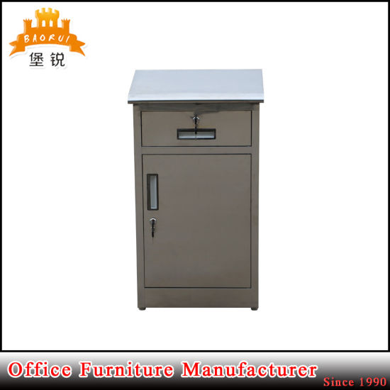 Jas-A109 Morden Design Stainless Steel Multi-Function Hospital Bedside Cabinet pictures & photos