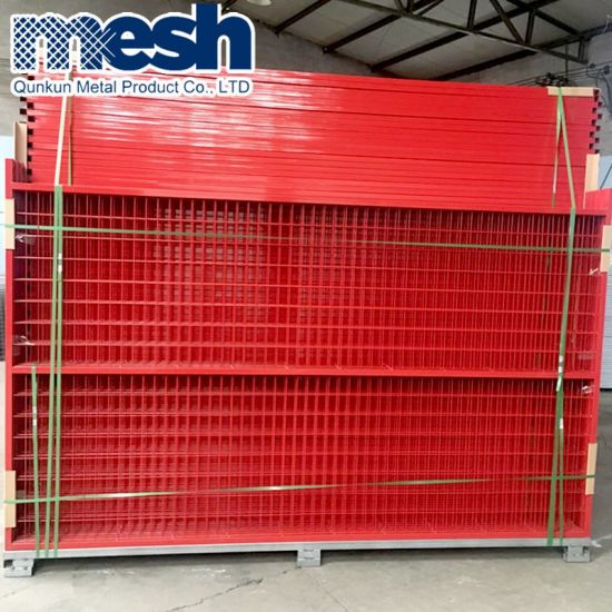 Wholesale 6 FT X 9.5 FT Metal Temporary Fencing Panels Construction Fence pictures & photos