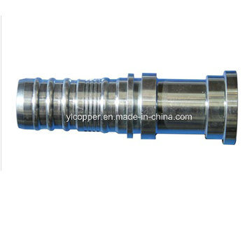 CNC Precision Hydraulic Parts Flange Hose Fittings pictures & photos