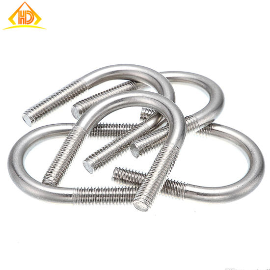 Factory Price Stainless Steel Round Bend U Bolts pictures & photos