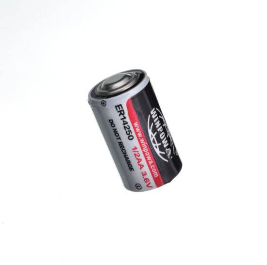 3.6V 2.7ah Er14250 Lithium / Thionyl Chloride Battery pictures & photos