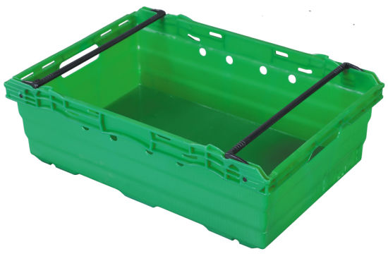 Durable Plastic Vegetable and Fruit Crate pictures & photos