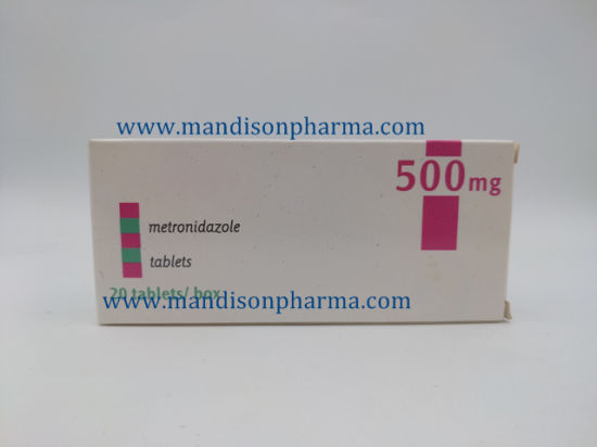 Metronidazole Tablet 500mg GMP Certificated Western Medicine pictures & photos