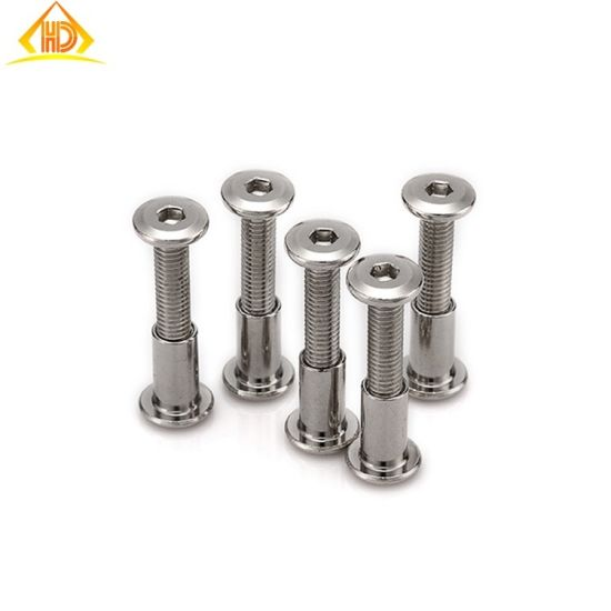 M5 SS304 Inclined Flat Head Hexagon Socket Chicago Screw pictures & photos