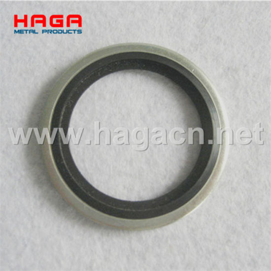 Metric Bsp Self Centering Rubber Metal Hydraulic Usit Ring Dowty Bonded Seals Washer pictures & photos
