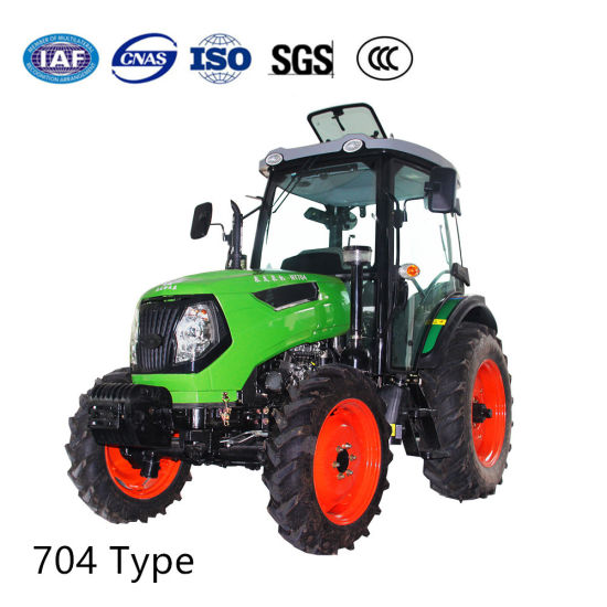 70 HP Agricultural Machinery Four Wheel Diesel Tractors pictures & photos