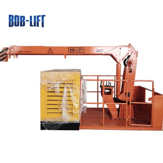 Small 2 Ton Fixed Boom Engine Cargo Ship Loader Crane pictures & photos