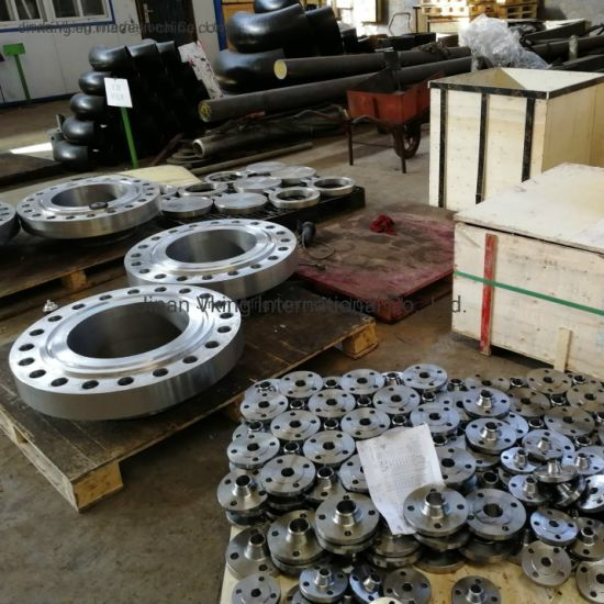 ANSI B16.5 CS A105 RF 150lbs Socket Welding Orifice Flange pictures & photos