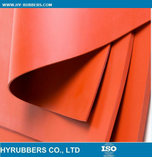 High Temperature Silicone Rubber Sheet pictures & photos