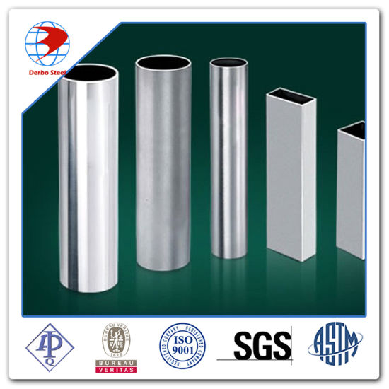 SUS304 304L 316L Stainless Steel Rectangular /Square Tube Manufacturer pictures & photos
