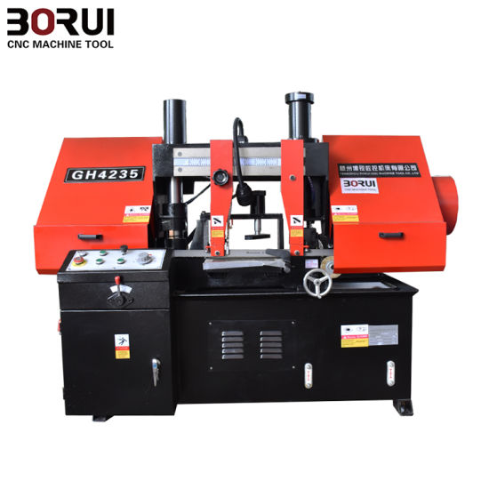Gh4228 Metal Band Saw Cutting Machine Horizontal Band Saw Metal Cutting for Sale pictures & photos
