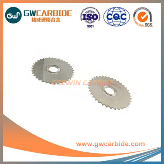 Tungsten Carbide Circular Blade Carbide Slitting Cutters pictures & photos