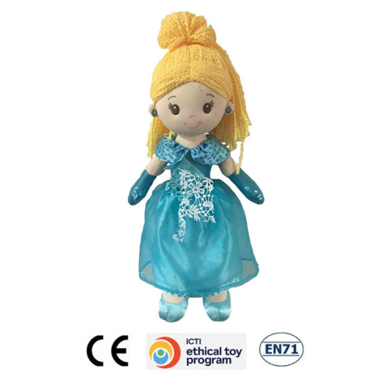 Hot Sell Stuffed Plush Toys Girl Lovely Rag Doll pictures & photos