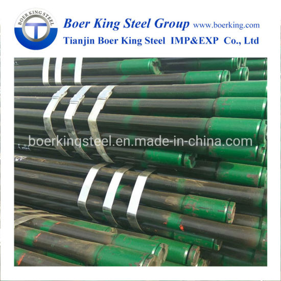 Btc N80 J55 54.5 Lb/FT R3 Seamless Casing Oil Pipe Drill Steel Pipe pictures & photos