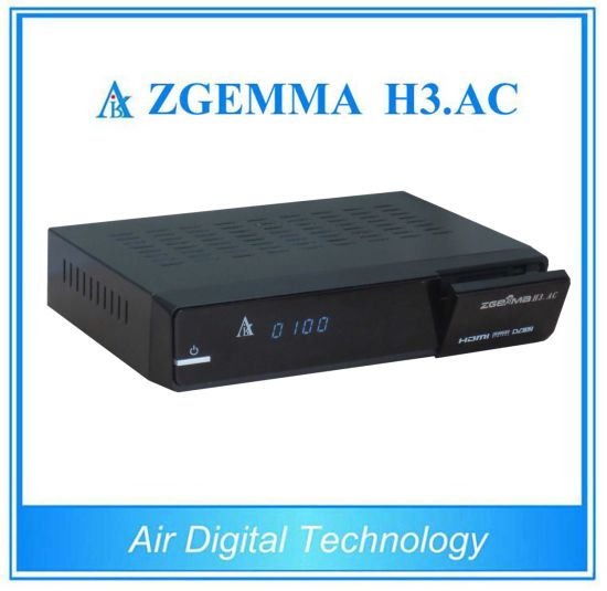 North America ATSC + Satellite Receiver DVB S/S2 Zgemma H3. AC pictures & photos
