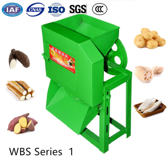 Stainless Steel Electric Melon Tuber Vegetable Grating Dicing Process Slicer pictures & photos